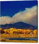 Fern Lake Fire Canvas Print