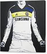 Fernando Torres - Chelsea Fc Canvas Print