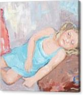 Ferne Asleep Canvas Print