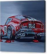 Ferrari 250gto Canvas Print
