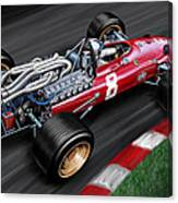 Ferrari 312 F-1 Car Canvas Print