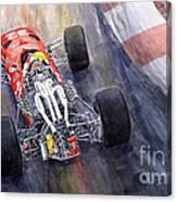 Ferrari 312 F1 1967 Canvas Print
