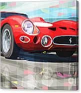 Ferrari 330 Gto 1962 Canvas Print