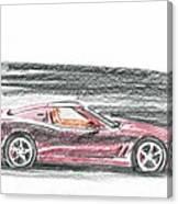 Ferrari 550 Canvas Print