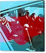 Ferrari Cockpit Canvas Print