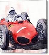 Ferrari Dino 156 F1 1961  Canvas Print