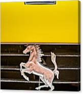 Ferrari Dino Grille Emblem -0750c Canvas Print