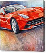 2014 Ferrari F12 Berlinetta  Canvas Print