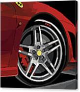 Ferrari Front End Canvas Print