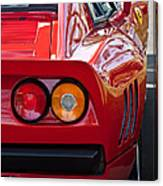 Ferrari Gto 288 Taillight -0631c Canvas Print