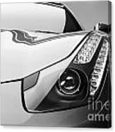 Ferrari Headlight Canvas Print