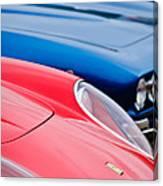 Ferrari Hood Emblem -0630c Canvas Print