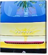 Ferrari Rear Emblem -0062c Canvas Print