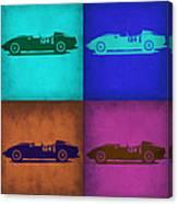 Ferrari Testa Rossa Pop Art 1 Canvas Print