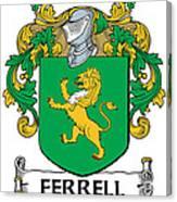 Ferrell Coat Of Arms Longford Ireland Canvas Print