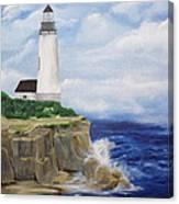 Ferrels Lighthouse Canvas Print