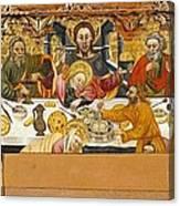 Ferrer, Jaume 15th Century. The Last Canvas Print