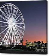 Ferris Wheel 16 Canvas Print
