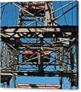 Ferris Wheel At Vienna Prater Canvas Print