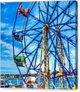 Ferris Wheel - Balboa Fun Zone Canvas Print