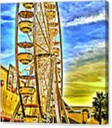 Ferris Wheel In Lb Canvas Print