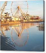 Ferris Wheel Jersey Shore 2 Canvas Print