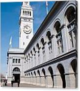 Ferry Building Canvas Print