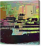 Ferry Cubed 2 Canvas Print