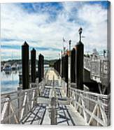 Ferry Dock Canvas Print