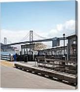 Ferry Terminal Canvas Print