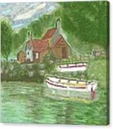 Ferryman's Cottage Canvas Print