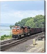 Ferryville Train Canvas Print
