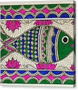 Festive Fish Canvas Print