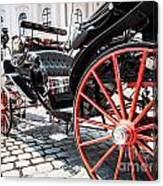 Fiaker Carriage In Vienna Canvas Print