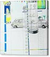 Fiat Cinquecento Canvas Print
