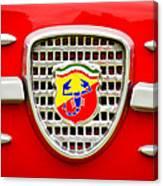 Fiat Emblem Canvas Print