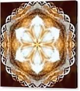Fiber Optic Gold Canvas Print