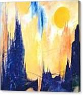 Fiction 5 Canvas Print