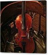 Fiddle Canvas Print