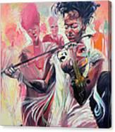 Fiddle Princess Canvas Print