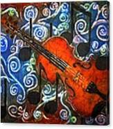 Fiddle - Violin Canvas Print