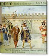 'fidelio' Act 2 Scene 8 - The Wicked Canvas Print