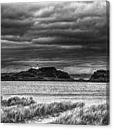 Fidra Island Lighthouse Canvas Print