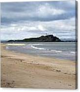 Fidra Island Lighthouse Canvas Print