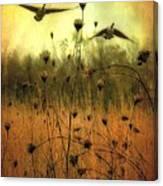 Field Dwellers  Canvas Print
