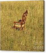 Field Of Chair Canvas Print