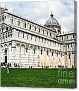 Field Of Dreams Cathedral Canvas Print