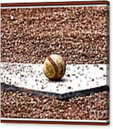 Field Of Dreams The Ball Canvas Print