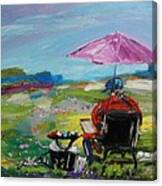 Field Painter  Canvas Print