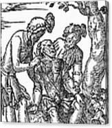 Field Surgeon, 1547 Canvas Print